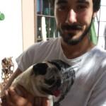 7. Lula con su papi