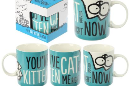 Taza You've Cat to be Kitten Me (Simon's Cat).....6€ + envío