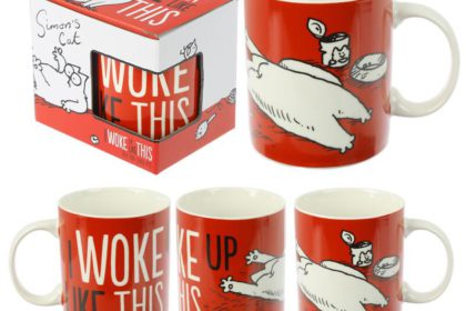 Taza I WOKE UP LIKE THIS (Simon's Cat).... 6€ + envío