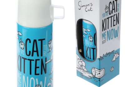 TERMO acero inoxidable SImon's Cat....12€ + envío
